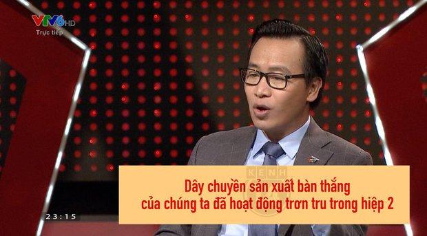 Trận bóng đi qua, BLV Biên Cương để lại rổ quote: Đây không phải bóng đá, đây là võ thuật! - Ảnh 3.