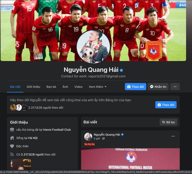 Top 5 cầu thủ Việt có lượng người theo dõi khủng nhất trên Facebook, cái tên mlem mlem Đoàn Văn Hậu xếp thứ mấy? - Ảnh 5.