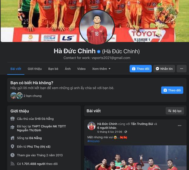 Top 5 cầu thủ Việt có lượng người theo dõi khủng nhất trên Facebook, cái tên mlem mlem Đoàn Văn Hậu xếp thứ mấy? - Ảnh 6.