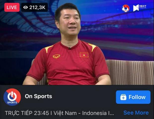 BLV Quang Huy và Quang Tùng cùng tham gia bình luận, một livestream hút tới gần 450k lượt xem cùng lúc - Ảnh 2.