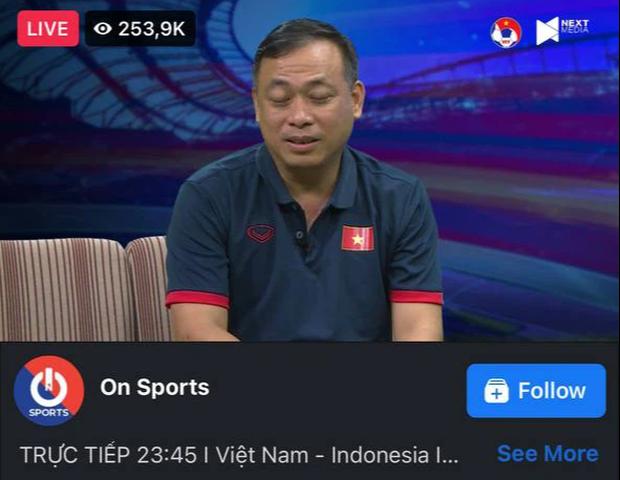 BLV Quang Huy và Quang Tùng cùng tham gia bình luận, một livestream hút tới gần 450k lượt xem cùng lúc - Ảnh 3.