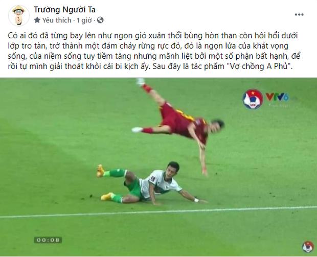Màn phân tích khoảnh khắc cầu thủ Việt Nam bị chơi xấu bằng Văn học xứng đáng nhận 10 điểm - Ảnh 1.