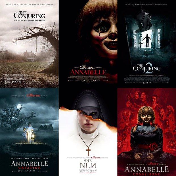 Từ búp bê Annabelle, quỷ Valak đến sát nhân tâm thần, đâu mới là phần phim hay nhất trong vũ trụ The Conjuring? - Ảnh 1.