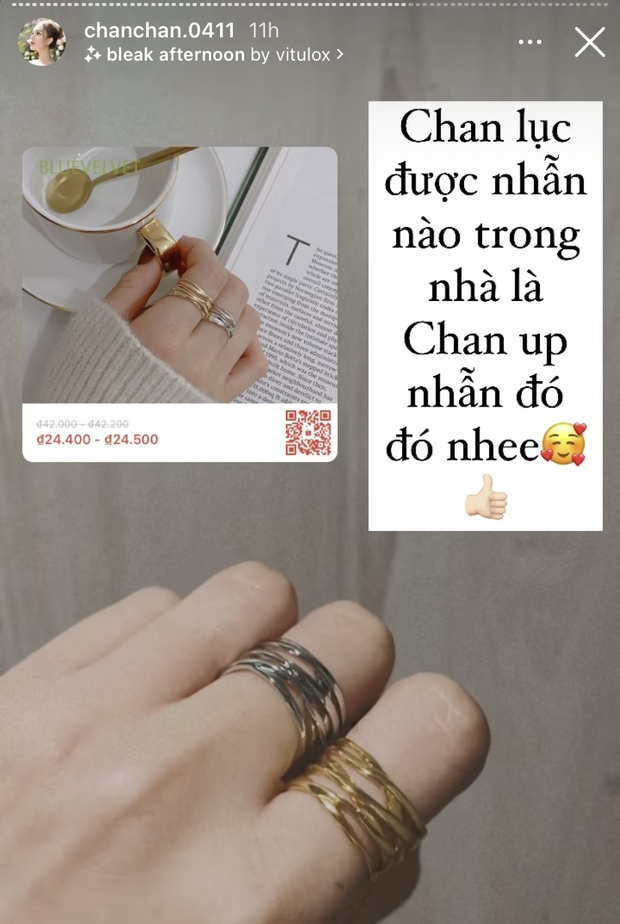 Vợ streamer giàu nhất Việt Nam khoe trang sức sang chảnh: Xem giá mới bất ngờ vì chỉ 25k đổ về  - Ảnh 4.