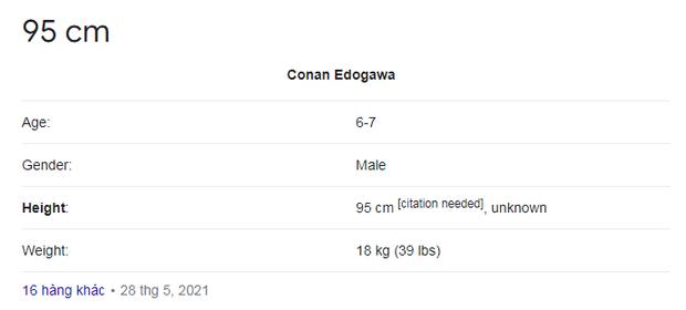 Thắc mắc dị nhất quả đất hôm nay: Conan cao bao nhiêu? Nhìn đến bánh xe hơi mà hãi hùng tột độ - Ảnh 9.