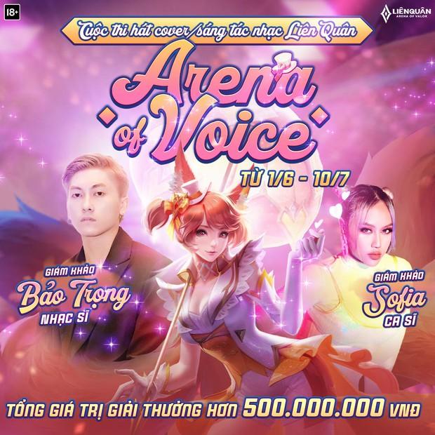 Liên Quân Mobile lại chơi lớn, tổ chức cuộc thi âm nhạc dành riêng cho game thủ với giải thưởng lên đến 500 triệu đồng - Ảnh 2.
