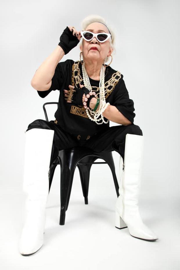 Wowy khoe bộ ảnh mới, bà ngoại U80 chiếm trọn spotlight vì quá chất! - Ảnh 5.
