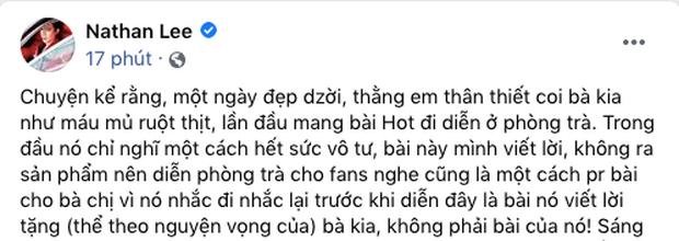 Cùng xem lại khoảnh khắc Thu Minh hát Hot mừng sinh nhật Nathan Lee, 8 năm trước thân thiết thế này cơ mà! - Ảnh 2.