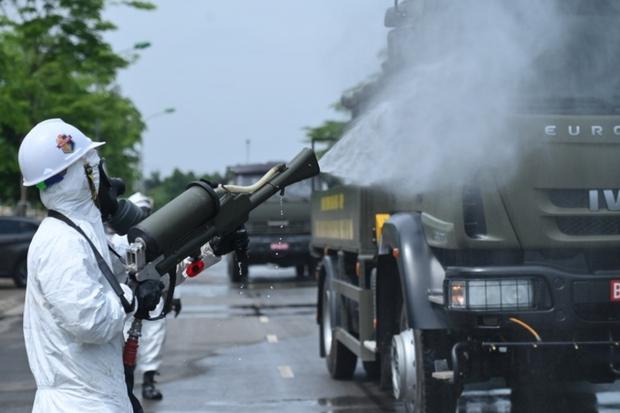 Bắc Giang hạ quyết tâm sau 21/6 không còn F0, chuẩn bị khử khuẩn tâm dịch Núi Hiểu - Ảnh 4.
