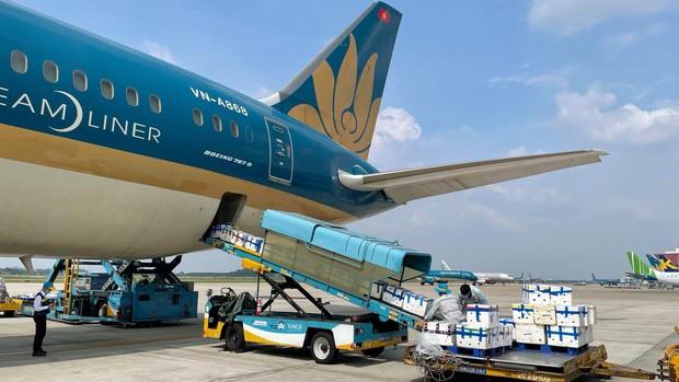 Bố trí riêng một siêu máy bay chở 40 tấn vải thiều Bắc Giang đi TP.HCM - Ảnh 1.