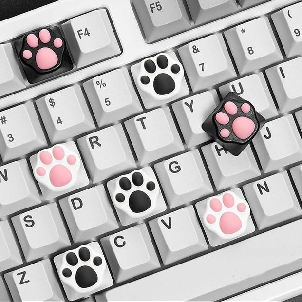 Bên Hàn rộ mốt thay bộ bàn phím chân mèo, netizen Việt cũng không cưỡng lại được vì cute xỉu - Ảnh 6.