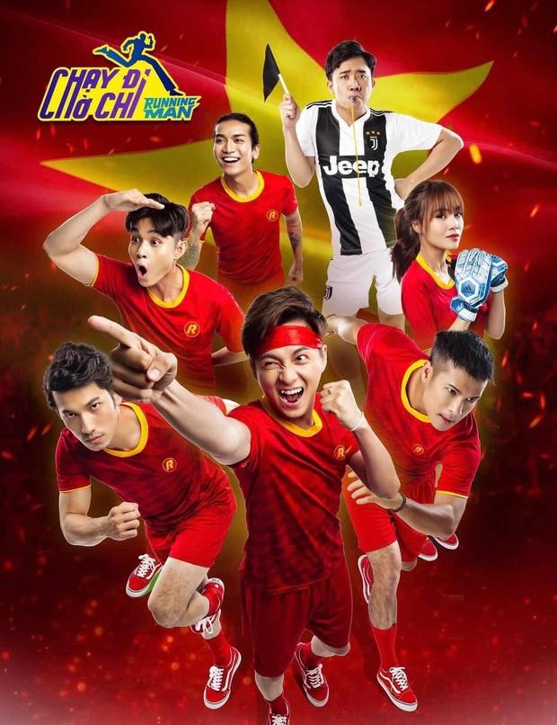 Cười xỉu khi xem dàn Running Man Việt hóa cầu thủ, trùm cuối BB Trần không làm mọi người thất vọng! - Ảnh 6.
