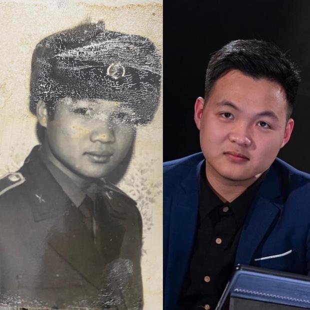 Khoe ảnh giống hệt bố thời trẻ, Hà Việt Hoàng (Siêu Trí Tuệ) tiết lộ chi tiết chứng tỏ học vấn của bố khủng cỡ nào! - Ảnh 1.