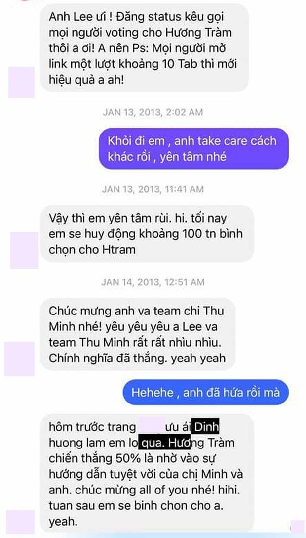 Nathan Lee tung tin nhắn chứng minh từng hỗ trợ team Thu Minh đưa Hương Tràm lên ngôi tại The Voice, còn đặt mật khẩu wifi là tên đàn chị - Ảnh 3.