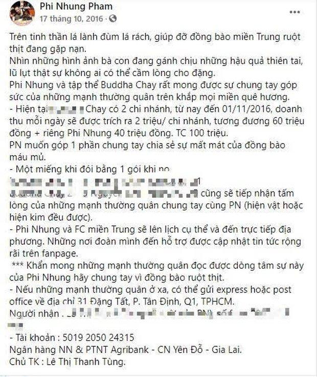 """Phi Nhung bị netizen đào lại và soi điểm bất thường trong 2 vụ kêu gọi từ thiện miền Trung, nghi ngờ """"ngâm"""" sao kê suốt 5 năm? - Ảnh 2."""