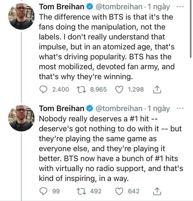 Tác giả bài viết nói BTS phá hỏng Billboard quay xe nhận sai, nhưng vẫn khẳng định Butter dở tệ - Ảnh 6.