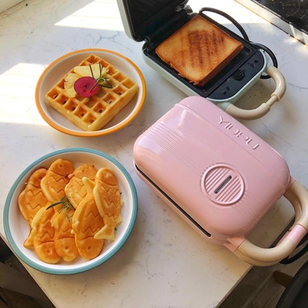 Ở nhà không la cà sắm ngay máy kẹp nướng bánh mì siêu xinh siêu tiện, thành phẩm ngon như ngoài tiệm - Ảnh 5.