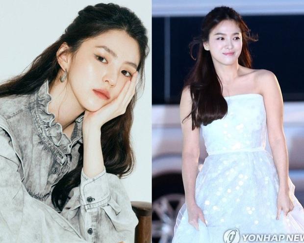 Giống từ khuôn mặt tới gu làm đẹp, chẳng trách người ta gọi Han So Hee là bản sao Song Hye Kyo - Ảnh 5.