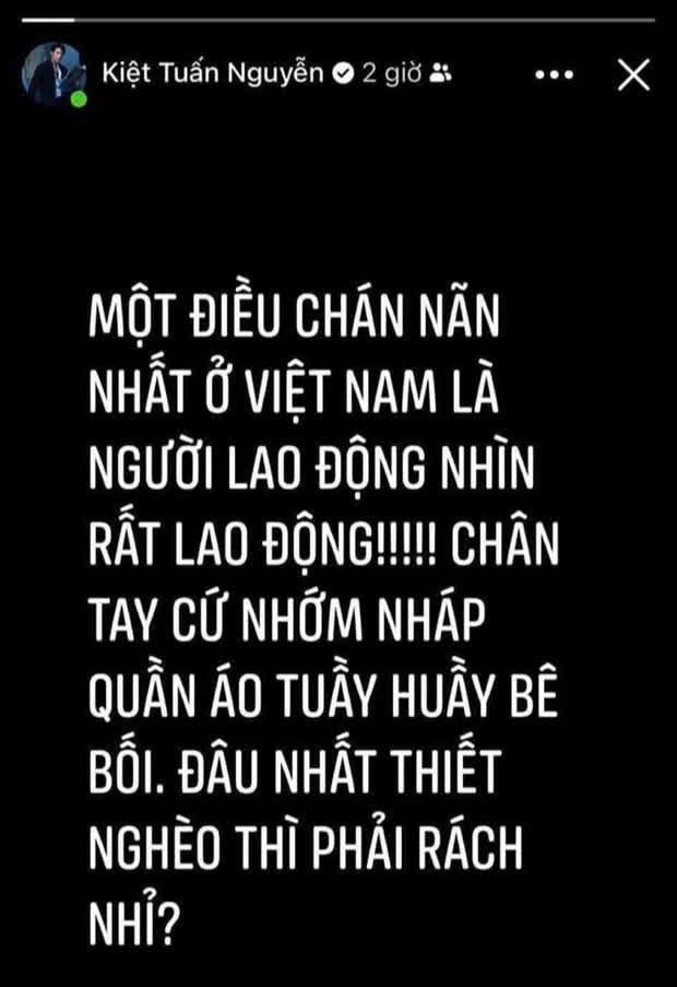 Stylist xúc phạm người lao động từng miệt thị Trương Thế Vinh: Kém sang, ế show phát rồ - Ảnh 2.