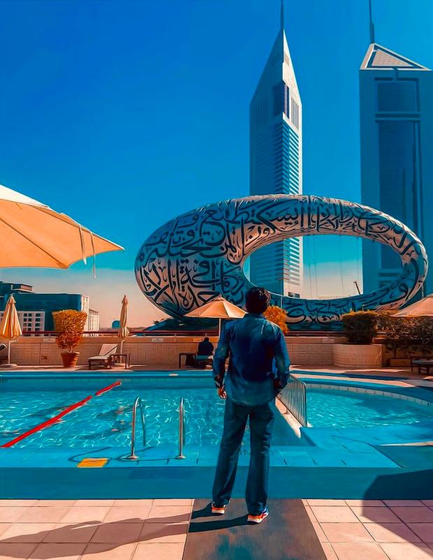 Cận cảnh nơi ăn chốn ở siêu sang, xịn của đội tuyển Việt Nam tại Dubai - Ảnh 18.