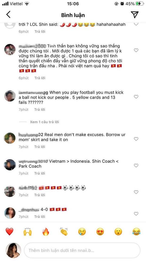 Cộng đồng mạng làm loạn Instagram cá nhân của HLV Indonesia vì phát ngôn cà khịa đội tuyển Việt Nam - Ảnh 4.