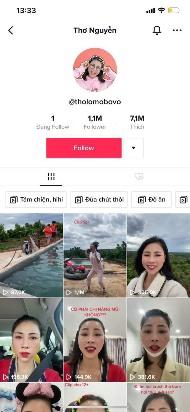 Không chỉ lập kênh YouTube mới, Thơ Nguyễn còn đổi luôn tên tài khoản TikTok khiến cộng đồng mạng phẫn nộ - Ảnh 4.