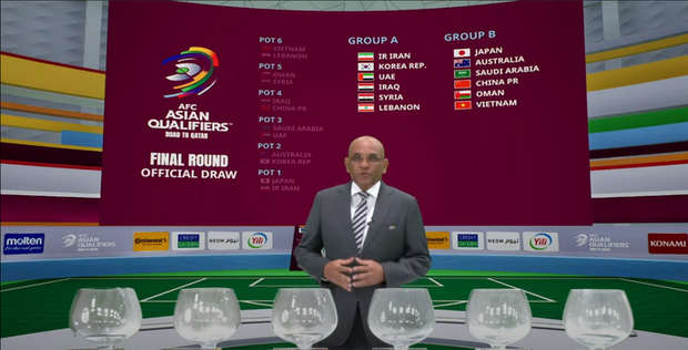 Đội tuyển Việt Nam nằm chung bảng với Trung Quốc và Nhật Bản tại vòng loại thứ 3 của World Cup 2022 - Ảnh 3.