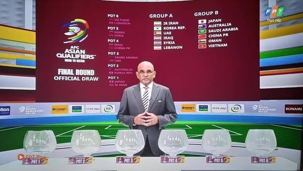 Nóng: Vừa kết thúc bốc thăm chia bảng, Việt Nam chạm trán Nhật Bản, Trung Quốc vòng loại thứ 3 World Cup 2022 - Ảnh 1.