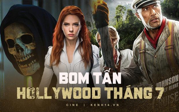 Hollywood tháng 7 ngập bom tấn: Chị đại Black Widow tung chưởng cùng The Rock, mảng truyền hình có sự trở lại của một huyền thoại! - Ảnh 1.