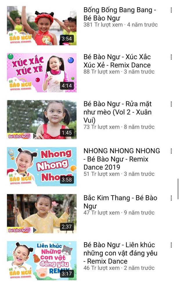 Ca sĩ nhí Bào Ngư: Truyền nhân của gia đình nghệ thuật 5 thế hệ, sở hữu kênh YouTube triệu sub, từng có cát-xê lên đến 4.000 USD? - Ảnh 6.