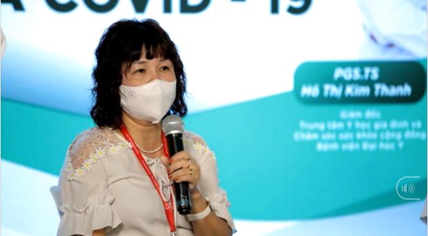 """PGS Lê Thị Thanh Xuân: """"Nếu bạn thực sự yêu bản thân và yêu cộng đồng, yêu nghĩa là không chờ đợi và tiêm vắc xin là không chờ đợi"""" - Ảnh 1."""