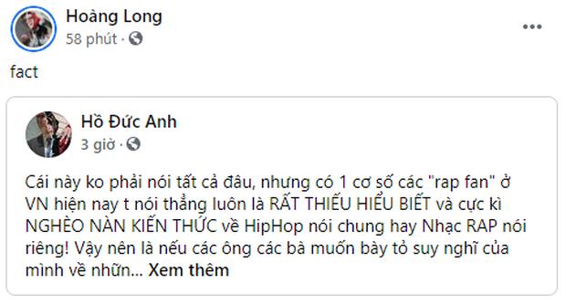 Biến gì đây: Thí sinh Rap Việt MCK, Gonzo,... đồng loạt chia sẻ 1 bài viết chỉ trích rap fan hiện nay thiếu hiểu biết, nghèo nàn kiến thức? - Ảnh 2.