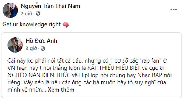 Biến gì đây: Thí sinh Rap Việt MCK, Gonzo,... đồng loạt chia sẻ 1 bài viết chỉ trích rap fan hiện nay thiếu hiểu biết, nghèo nàn kiến thức? - Ảnh 1.