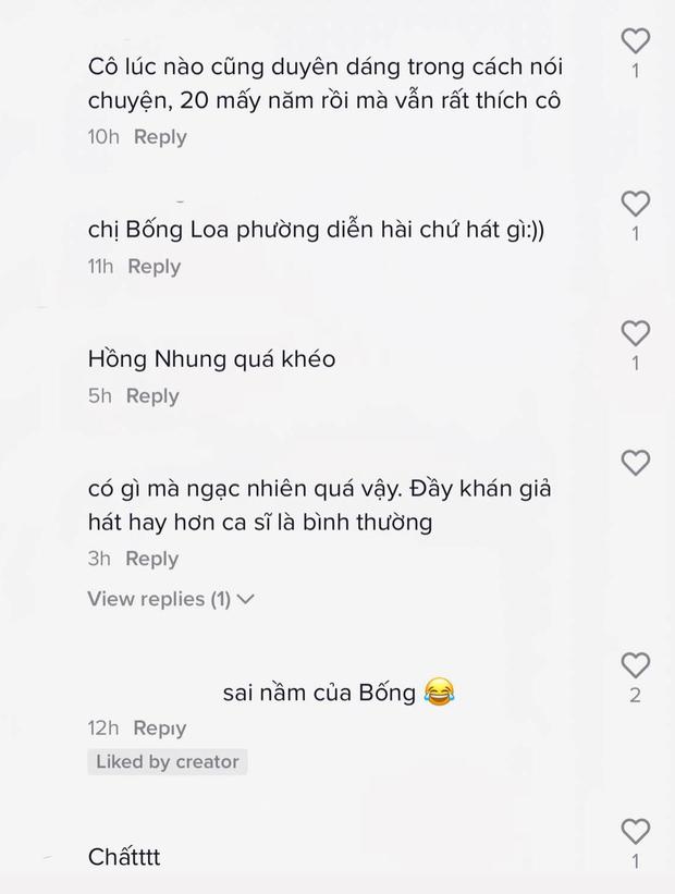 Diva Hồng Nhung hát giao lưu với 1 fan nữ, chuyện gì xảy ra khiến cô mặt xụ xuống, buồn bã thốt lên Thôi chết rồi, dại quá? - Ảnh 6.