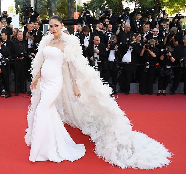 2 nữ thần châu Á đẹp nhất lịch sử Cannes: Phạm Băng Băng chặt chém 1001 váy áo khủng, Chompoo Araya bụng bầu vẫn đẹp lồng lộn - Ảnh 23.