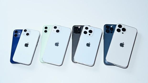 So sánh nhanh mô hình các mẫu iPhone 13 sắp ra mắt với iPhone 12 - Ảnh 1.