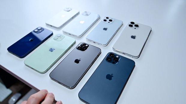 So sánh nhanh mô hình các mẫu iPhone 13 sắp ra mắt với iPhone 12 - Ảnh 2.