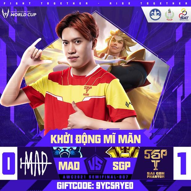 Saigon Phantom hủy diệt MAD Team tại Bán kết AWC 2021 trong ngày Lai Bâng và Lạc Lạc tỏa sáng rực rỡ - Ảnh 2.