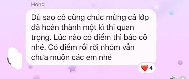 Chat với học trò thi xong đại học, cô giáo nhắn 1 dòng khiến ai cũng chột dạ, khóc rưng rưng - Ảnh 1.