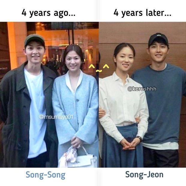 4 năm rồi mới xuất hiện mỹ nhân khiến Song Joong Ki có cử chỉ thân mật y như với vợ cũ Song Hye Kyo - Ảnh 4.