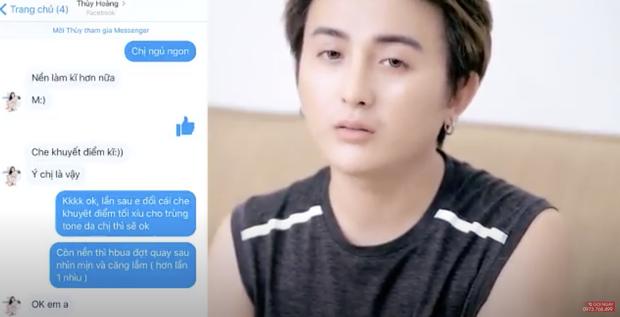 Netizen đào lại clip chuyên viên trang điểm tố Hoàng Thuỳ làm việc thiếu chuyên nghiệp, khiến anh bức xúc đến nỗi đập phá đồ đạc - Ảnh 3.