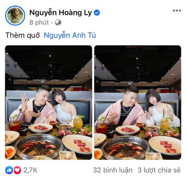 Anh Tú - Lyly cùng công khai ảnh hẹn hò ăn uống tình tứ dịp đặc biệt, lẽ nào thuyền đã cập bến thật rồi? - Ảnh 3.
