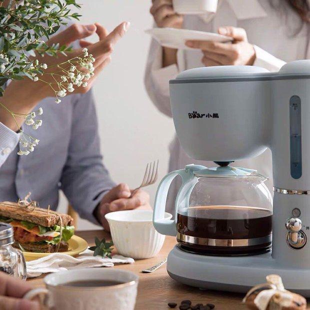Máy pha cafe Bear: Vừa xinh vừa rẻ nhưng khi dùng nên nâng như nâng trứng nha anh chị em - Ảnh 1.