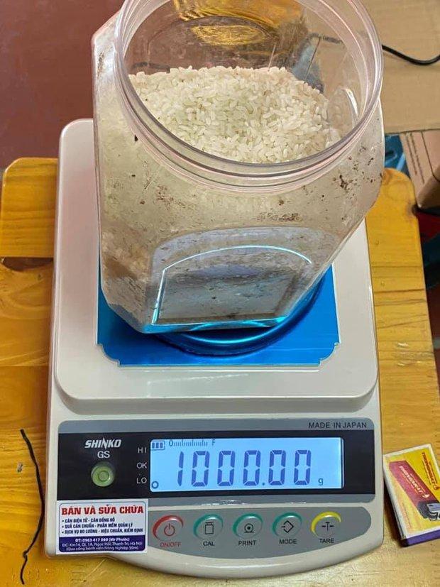 """""""1kg gạo có bao nhiêu hạt gạo?"""", một cư dân mạng đã tìm ra câu trả lời! - Ảnh 4."""