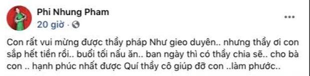 Phi Nhung bỗng than hết tiền hậu 1 tháng ồn ào với Hồ Văn Cường: Chuyện gì đây? - Ảnh 2.