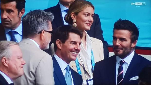 Dàn sao đổ bộ Chung kết Euro 2020: David Beckham - Tom Cruise thân mật gây bão, Harper xinh xắn át cả siêu mẫu Kate Moss - Ảnh 6.