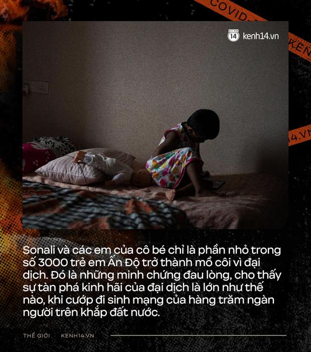 Mẹ ơi, khi nào mẹ về?: Câu chuyện đau lòng của những đứa trẻ đột ngột mồ côi sau địa ngục Covid ở Ấn Độ - Ảnh 5.