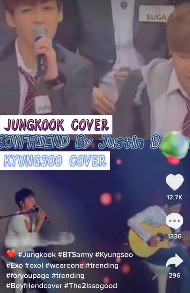 Jungkook (BTS) bị chê lép vế hơn D.O. (EXO) khi cùng cover hit của Justin Bieber, netizen phũ phàng: Không so sánh không đau thương - Ảnh 4.