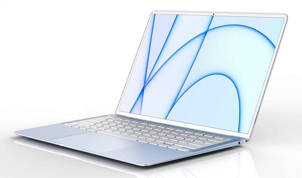 MacBook Air 2022 lộ thiết kế mới, có đến 6 màu sắc? - Ảnh 1.