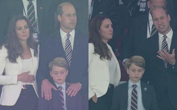 Biểu cảm đóng băng của Hoàng tử George khi Anh bại trận ở Chung kết Euro gây sốt MXH: Buồn thôi có cần đáng yêu vậy không? - Ảnh 3.